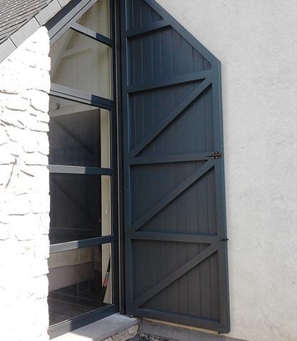 Châssis porte d'entrée Beaumont