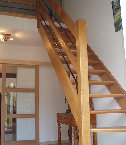 Construction escalier Erquelinnes